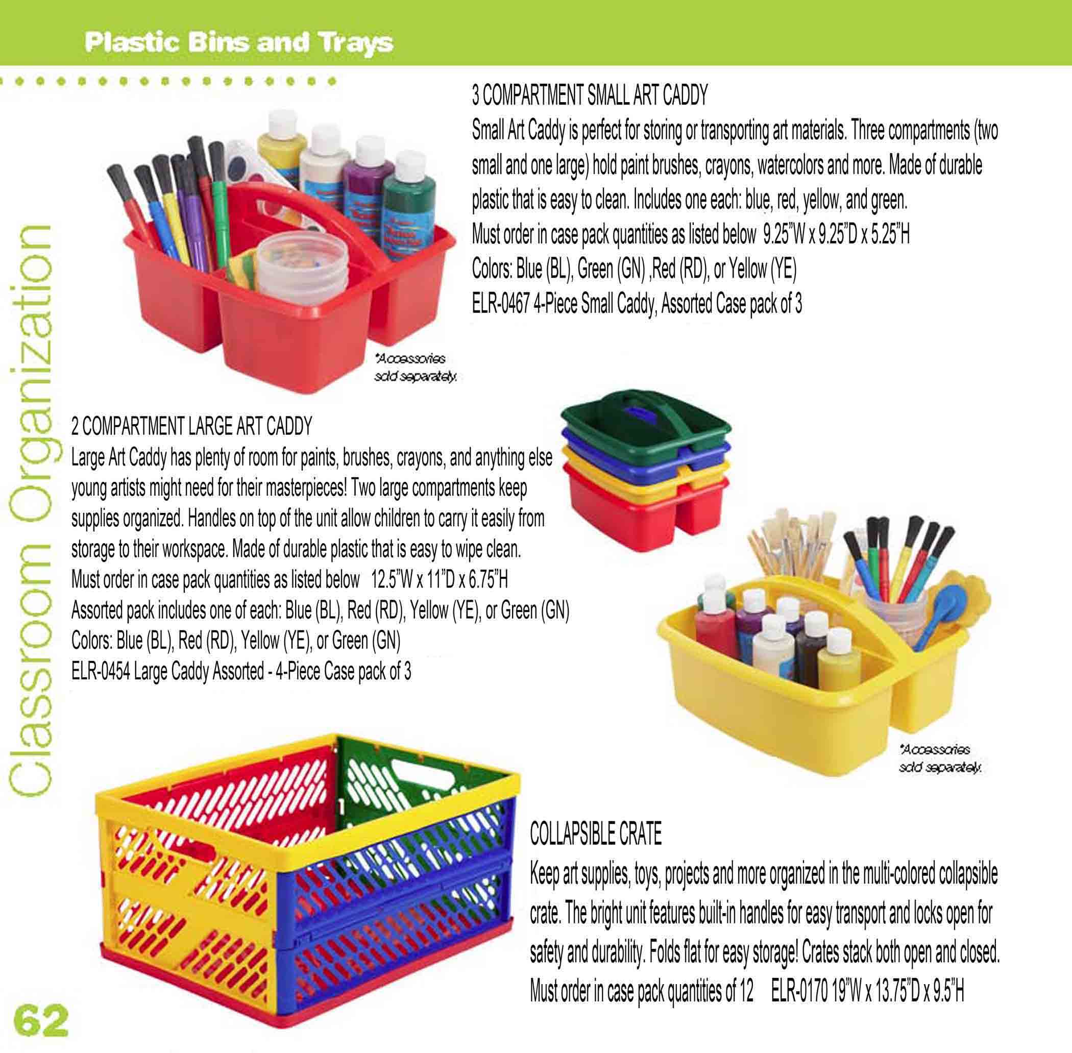 Plastic Storage Trays and Totes