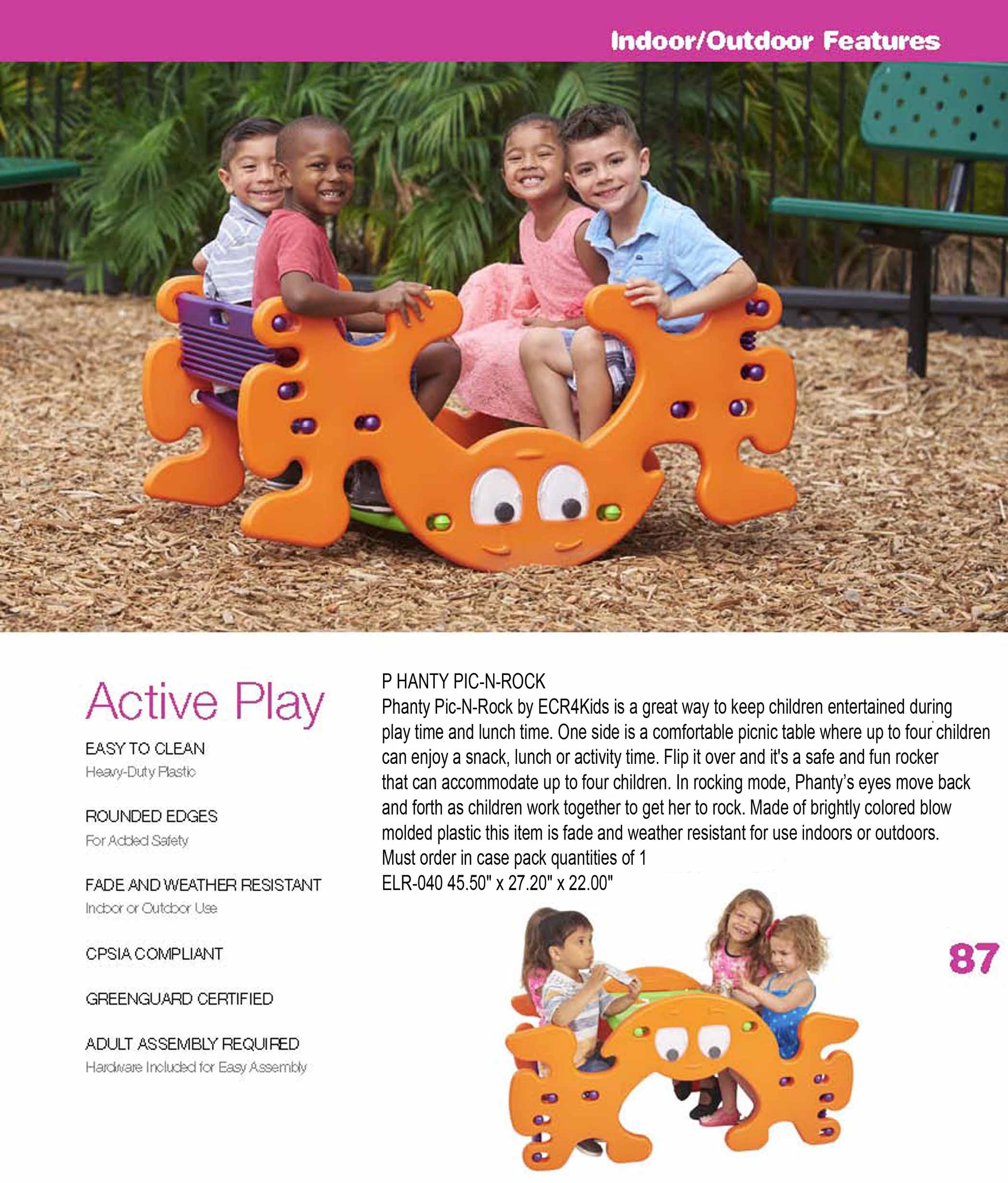 Indoor Outdoor Active Play