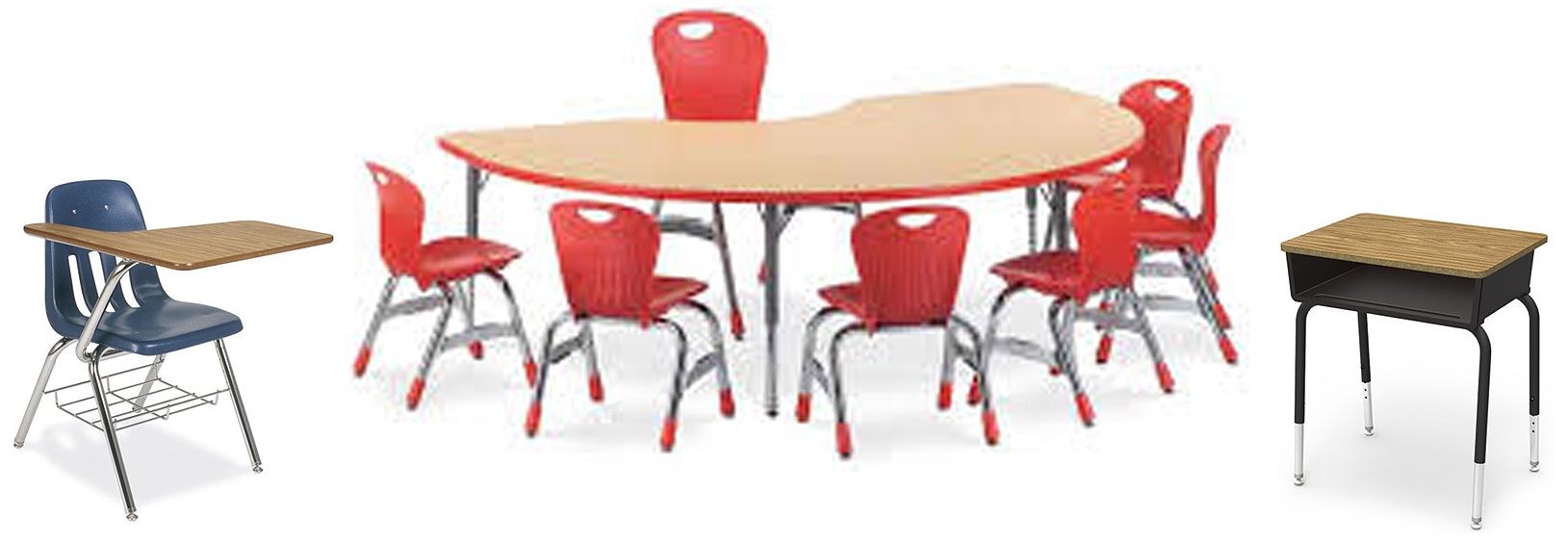 Virco Tables chairs and desks
