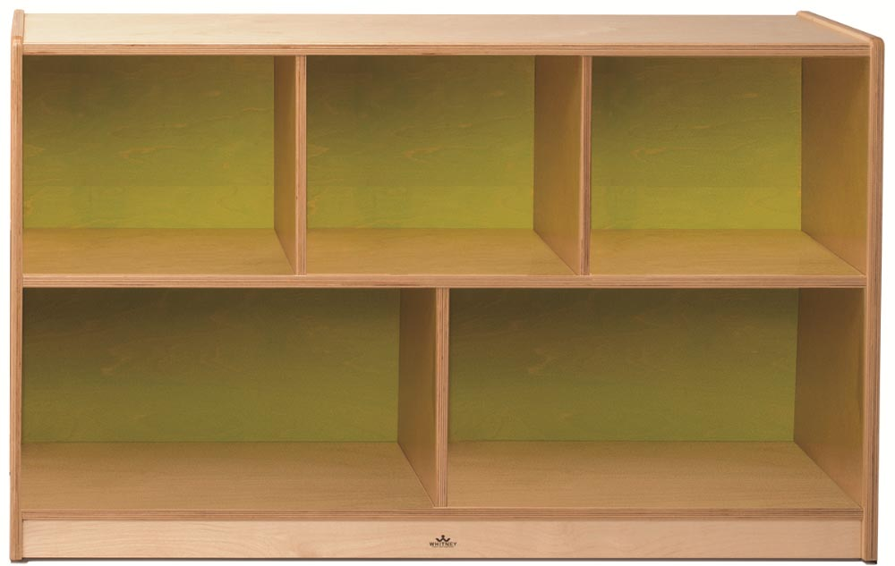 Whitney Brothers Plus Storage Cabinet Lime