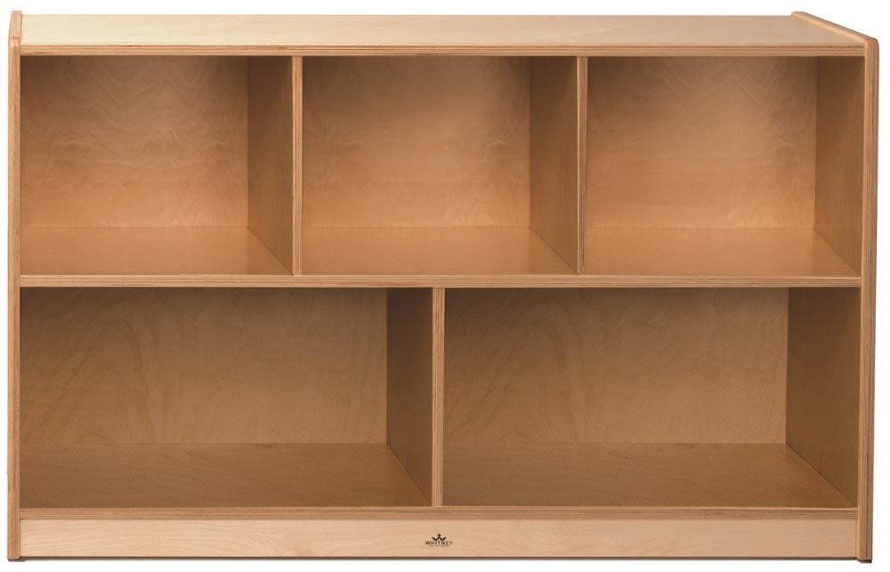 Whitney Brothers Plus Storage Cabinet Natural