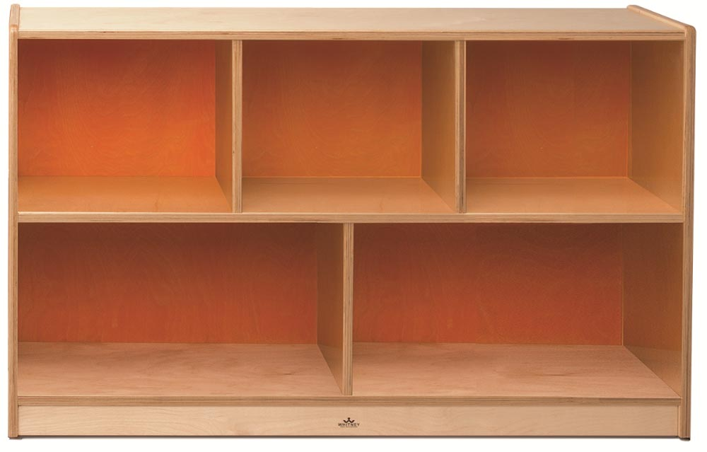 Whitney Brothers Plus Storage Cabinet Pumpkin