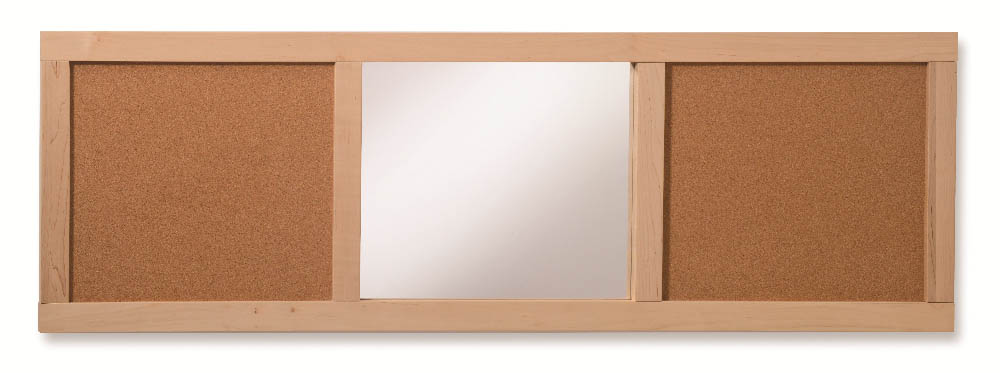 Whitney Brothers Plus Corkboard Mirror Panel