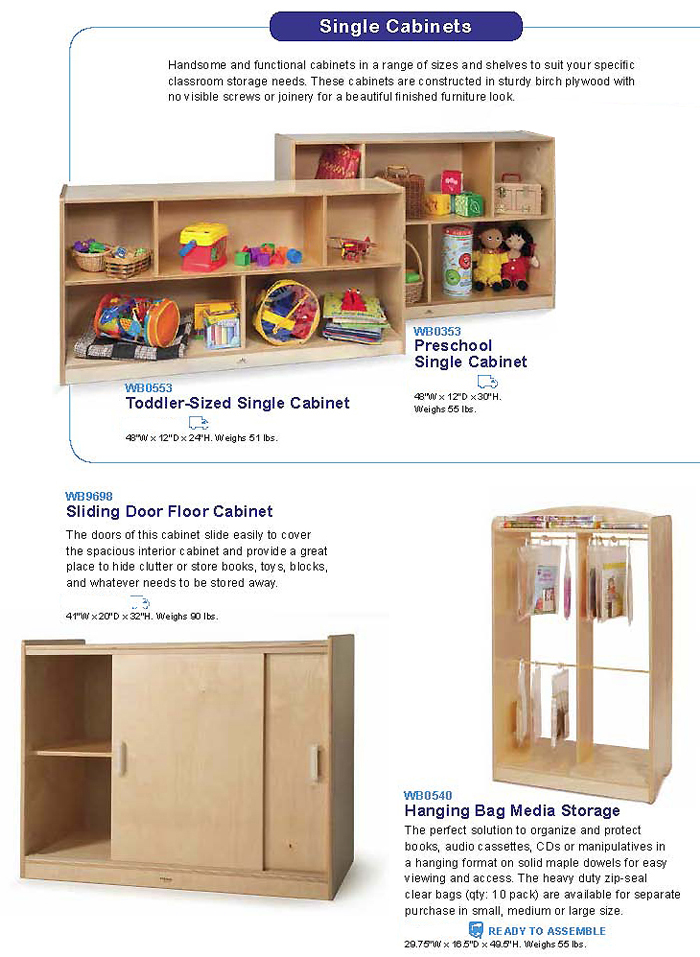 WHITNEY BROTHERS - Storage Cabinets