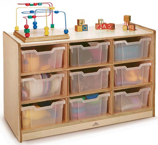 Whitney Brothers Tray Storage Units and Furniture