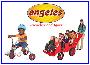 Angeles - Trikes and More from Wood Etc Co