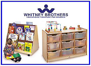 WHITNEY BROTHERS - Early Learning Furniture Products from Wood Etc Co